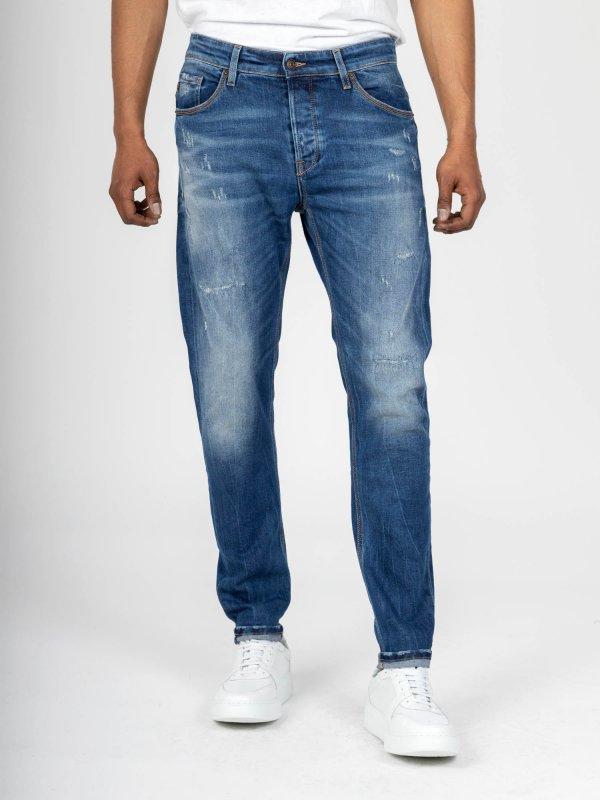 Slim-Sapphire Man Pant