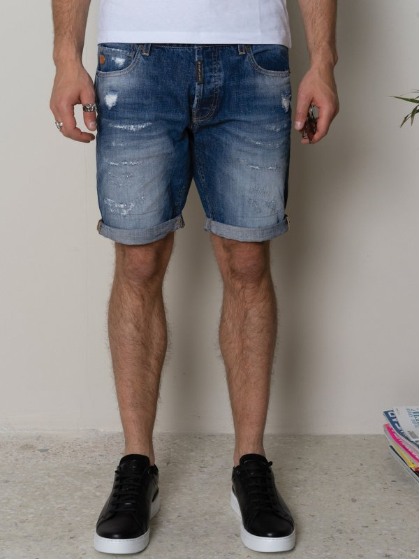 Paolo Man denim Shorts