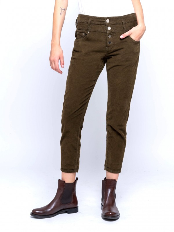 Irene Cropped  Wmn Pant