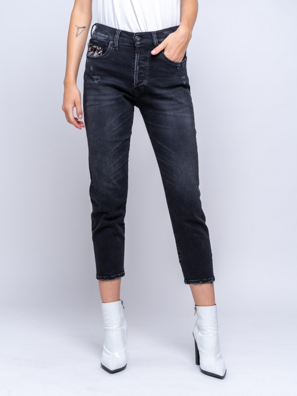 Ashley  Slim Crop Wmn Pant