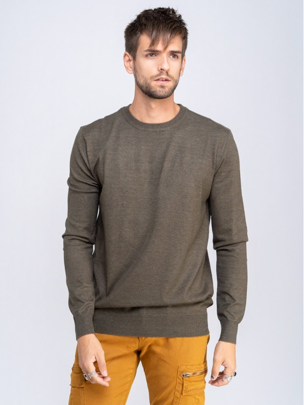 Alan Man Knit Crew Neck