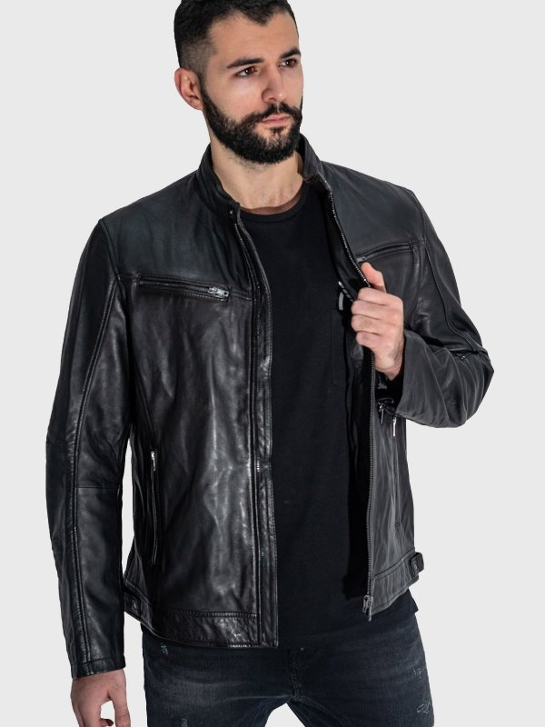 Sefel Man Leather Jacket